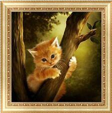 set de loisir créatif chat dans l'arbre