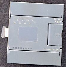 Siemens PLC Module 6ES7 241-1AA22-0XA0 S7-200 MODEM EM241