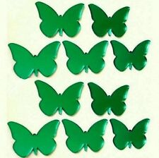 Decorative Mini Green Butterfly Mirrors