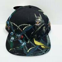 DC Comics BATMAN WHO LAUGHS Snap Back Adjustable Previews  Hat Cap New Joker