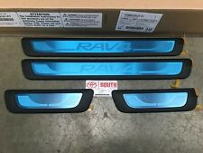 2014-2017 RAV4 Door Sill Protectors Genuine Toyota PU060-42141-P1 4 Piece Set
