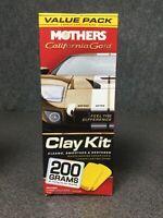 Mothers California Gold Clay Kit - No Clay Bars M8B