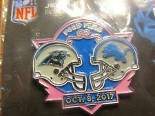 Detroit Lions VS Carolina Panthers Game Day Pin October 8, 2017 Ford Field BCA