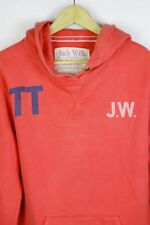VINTAGE Womens JACK WILLS Hoodie UNIVERSITY TIME TRAILS Sweater SLIM Size 10 P34