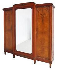 Grande armoire à glace style Louis XVI marquetée