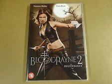 DVD / BLOODRAYNE 2 - DELIVERANCE ( NATASSIA MALTHE, ZACK WARD )
