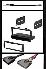 Car Stereo Radio Dash Kit Combo for select 1999-2004 Ford Focus Mercury Cougar