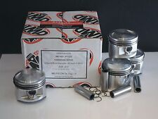 KAWASAKI 550 ZX550 ZR550 KZ550 PISTON KITS (4) NEW STD 58mm GPZ550 GT550