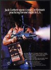 OMEGA SYNDROME__Original 1987 Trade Print AD movie promo__KEN WAHL_NICOLE EGGERT