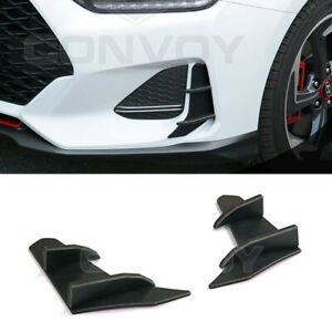 Front Bumper Canard Wing Molding for 2019 Hyundai Veloster