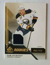 2014-15 SP Game Used Sam Reinhart Buffalo Sabres 463/499 - Jersey BLUE