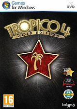 PC DVD Spiel Tropico 4 IV Gold Edition Basisspiel + Add-On Modern Times Neu