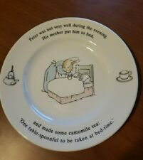 Vintage 1992 Wedgewood Peter Rabbit Plate