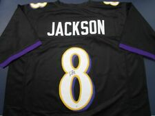 Lamar Jackson of the Baltimore Ravens autographed football jersey PAAS COA