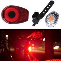 Trasera LUZ LED Bicicleta Para Ciclismo Reflectante Señalizacion USB Recargable