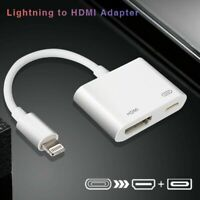 Lightning to HDMI Adapter Cable Digital AV TV For iPhone6/7/8 Plus iPad 1080P CA