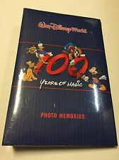 Walt Disney World Parks 100 Years of Magic 2001 Photo Album Holds 300 Photos NEW