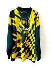Manchester United Goalkeeper Shirt 1994. Medium. Original Umbro. Adults Top M.