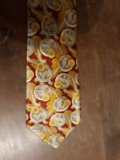 Cravates Lanvin Vintage Tie - 100% Pure soie Silk