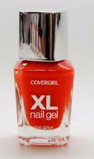 CoverGirl XL GEL NAIL POLISH .44 oz made in FRANCE OVERBLOWN ORANGE