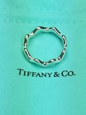 Tiffany & Co Paloma Picasso ZigZag Ring Sterling Silver Size 10