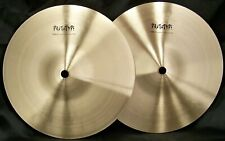 """Sabian Prototype AAX 9"""" Mini Hi Hat Cymbals/New-Warranty/T-376g+B-466g/Rare"""