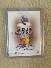 2012 Prime Signatures AUTO Hines Ward - RARE numbered  #'d 05/25 - MUST SEE!