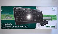 Logitech MK320 Wireless Desktop Keyboard & Mouse Combo.