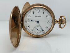Waltham Pocket Watch 17j 18s Model 1883 - 1897 - Running