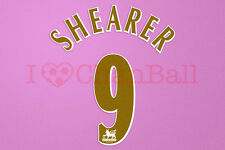 Newcastle 05/06 Shearer #9 Home Player Size PREMIER LEAGUE Number Set 1 Layer