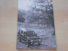 53564) Nissan Terrano II - technische Daten & Ausstattungen - Prospekt 11/1995