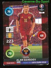 175 ALAN DZAGOEV RUSSIA CARTE CARD ADRENALYN ROAD TO UEFA EURO 2016 PANINI O