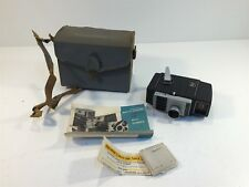 Bell & Howell Electric Eye 8mm Camera With Case & Manual