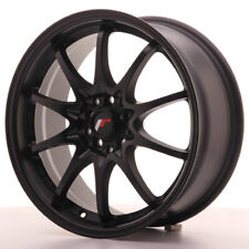 Japan Racing JR5 Alloy Wheel 17x7.5 - 5x114.3 / 5x100 - ET35 - Black