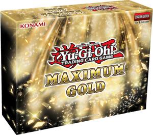 Yu-Gi-Oh! Maximum Gold Box 1st Edition Sealed yugioh tcg
