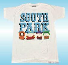New South Park Comedy Central Cast Big Logo White Men's T-Shirt