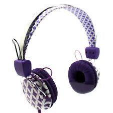 """NEW LAXMAX """"PURPLE DIAMOND"""" Stereo Headphones - SALE"""