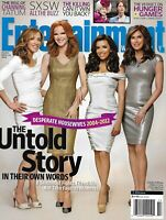 Entertainment Weekly Magazine Desperate Houseweives Felicity Huffman The Killing
