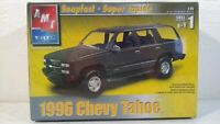 2003 AMT ERTL 1996 Chevy Tahoe Chevrolet Snapfast 1:25 Scale Model Kit # 31961