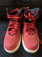 NIKE First Flight Gym Red Black White Basketball Shoes Sneakers YOUTH SIZE 5.5Y