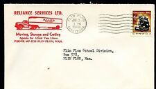 Reliance Servies Allied Truck RED illustrated advertising 1969 cover Canada