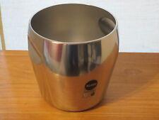 ALESSI *NEW* Seau à champagne inox satiné D.20cm H.19,5cm 500cl Ice bucket