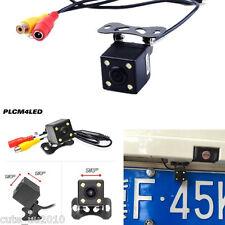 1X Mini Waterproof 4LED Night Vision Car Rear View Backup Reverse Parking Camera