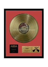 "RGM1083 Abba Gold Album Gold Disc 24K Plated LP 12"""