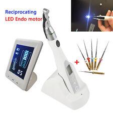 Dental 2 LED light lamp Cordless Endo Motor 16:1 + RS Apex Locator + Niti Files