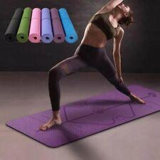 1830*610*6mm TPE Yoga-Matte Nicht-Slip Sport Fitness Matte Qualität