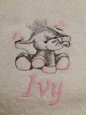 Cute Elephant Princesse Personnalisé Serviette de bain 100/% coton libre p/&p
