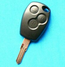 FOR Renault 3 Button REMOTE KEY FOB CASE CLIO LAGUNA KANGOO VALEO BLADE