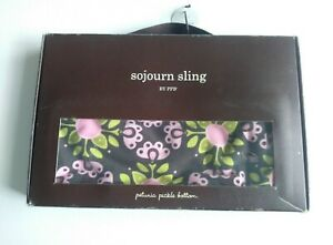 Petunia Pickle Bottom Sojourn Reversible Multi Color Baby Sling Medium size