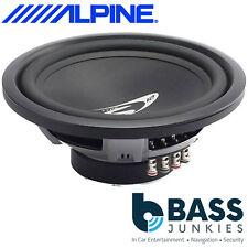 "Alpine SWS-1243D 12"" Inch 30cm 900 WATTS Dual Voice DVC Car Sub Bass Subwoofer"